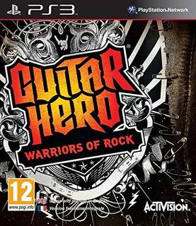 Juegos,guitar Hero 6 Warriors Of Rock - Sólo Juego - Ps3..