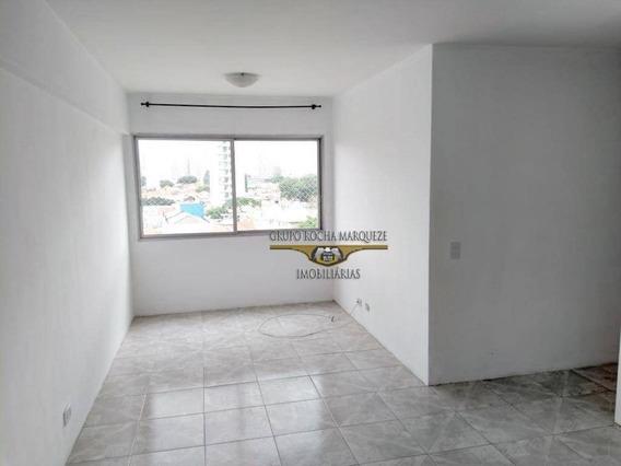 Apartamento Com 3 Dormitórios Para Alugar, 55 M² Por R$ 1.500,00/mês - Belém - São Paulo/sp - Ap0060