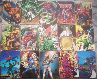 Tarjetas Pepsi Cards Marvel