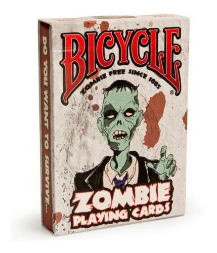 Imagen 1 de 6 de ¡ Cartas Bicycle Zombie Baraja Poker Original Black Jack !!