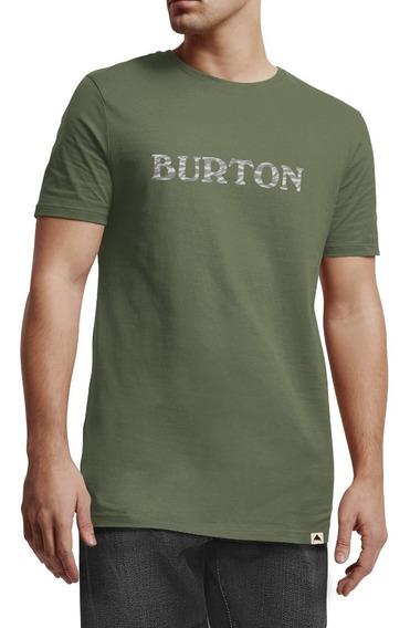 Remera Burton Mc Big Logo Pima