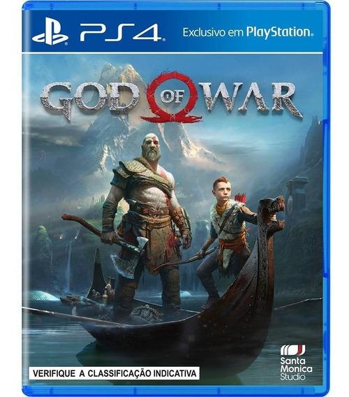 God Of War - Ps4 / Mídia Física / Lacrado / Pt-br