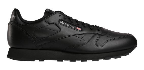 Zapatillas Reebok Moda Cl Lthr Hombre Ng/ng