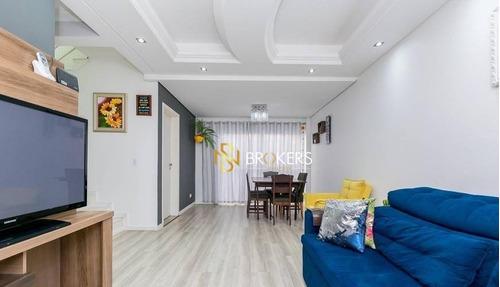 Sobrado Com 3 Dormitórios À Venda, 99 M² Por R$ 510.000,00 - Capão Raso - Curitiba/pr - So0067