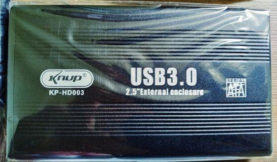 Case Para Hd Externo Sata 2.5 Usb 3.0/knup Kp-hd003 Notebook