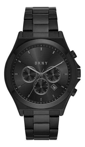 Reloj Caballero Dkny Ny1603 Color Negro De Acero