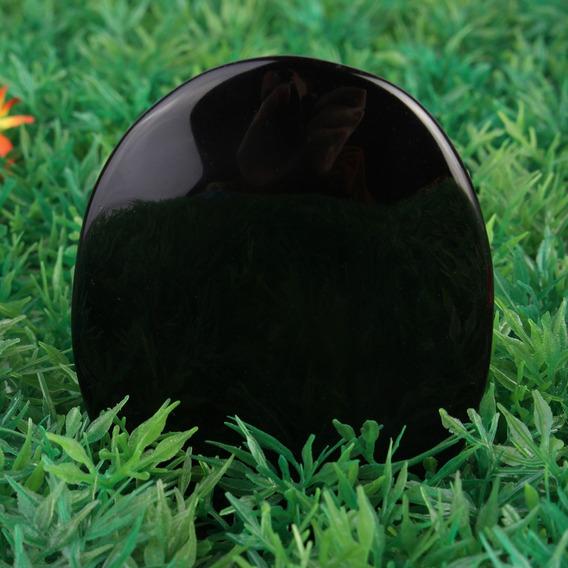 Multifunções Obsidiana Preto Espelho De Cristal Pedra Cura P