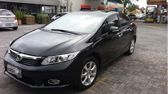 Honda Civic Exs 2012 / 2013 Automático, Completo, Único Dono