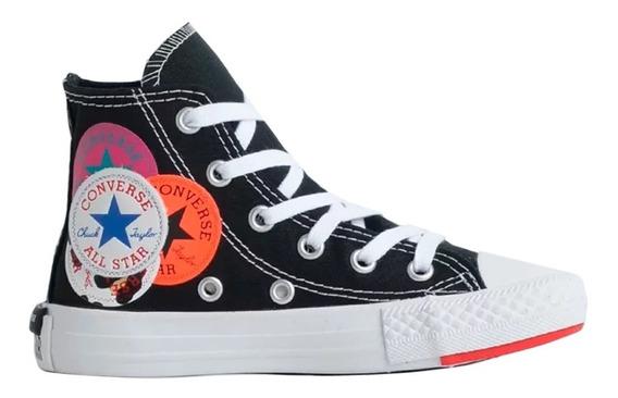 Tênis All Star Converse Infantil Bota Ck0818 -original