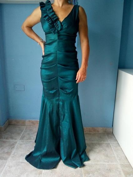 Vestido Largo De Fiesta, Usado, Excelente Estado