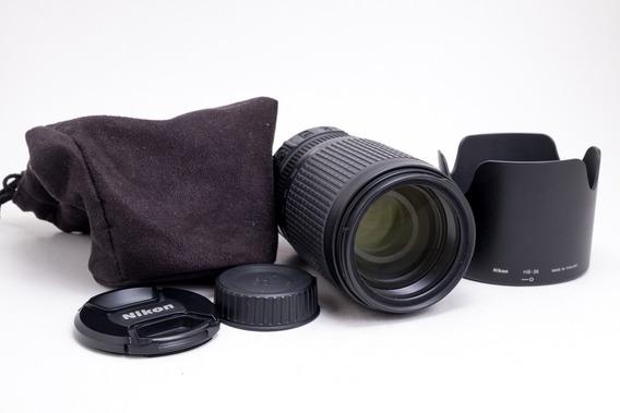 Lente Nikon Af-s Vr Zoom-nikkor 70-300mm F/4.5-5.6g If-ed