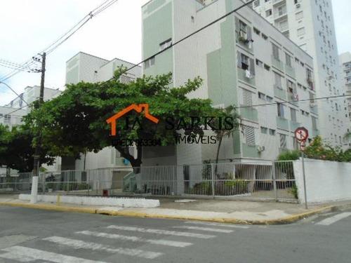 Kitnet Para Venda Em Praia Grande, Ocian, 1 Dormitório, 1 Banheiro, 1 Vaga - 1385_2-1143525