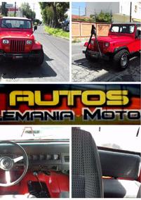 Jeep Wrangler Rubicom 1995 Rojo