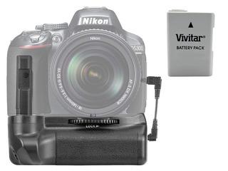 Battery Grip Neewer Nikon D5100 D5200 D5300+ Bateria Enel14