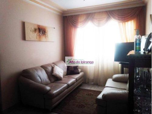 Apartamento Com 2 Dormitórios À Venda, 55 M²- Vila Marte - São Paulo/sp - Ap5472
