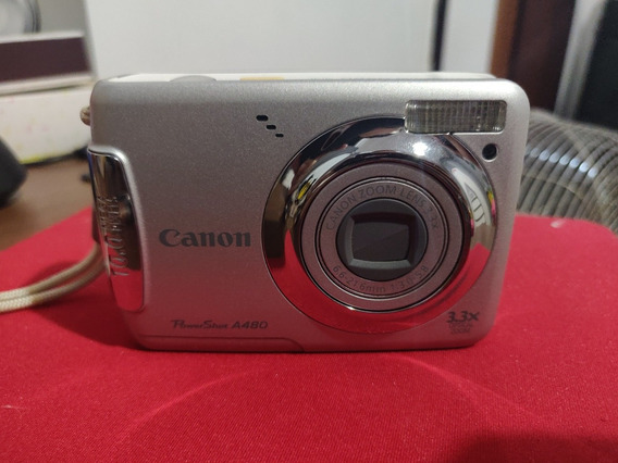 Câmera Digital Canon Powershot A480 10.0 Mp Nunca Usada