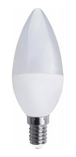 Lámpara Velita Led 6w / 7w E14 Mignon Vela 220v Frio Calido
