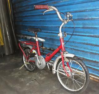 Antigua Bicicleta Rod 14 Plegable