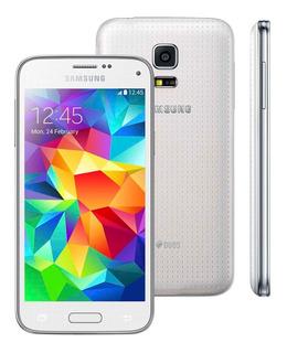 Samsung Galaxy S5 Mini G800 Branco 16gb, Câm 8mp [vitrine]