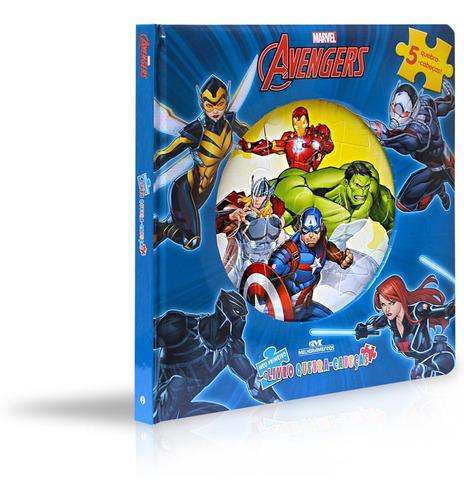 Imagem 1 de 4 de Avengers - Meu Primeiro Livro Quebra-cabeças