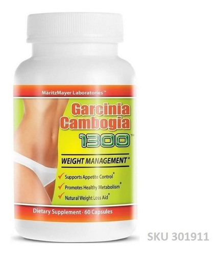 Imagen 1 de 1 de Garcinia Cambogia 1300 60 Capsu - - Unidad a $38835