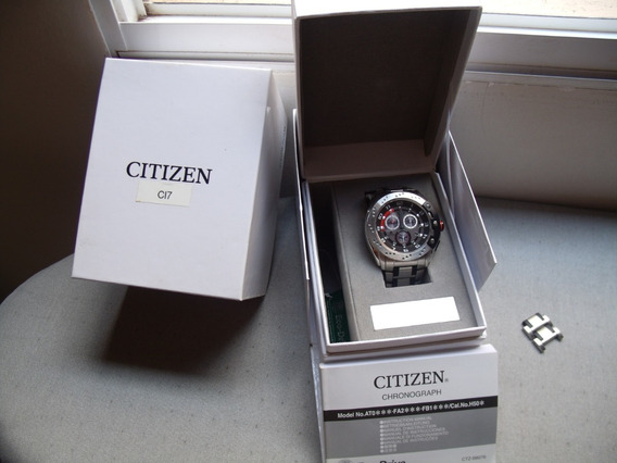 Citizen At0721-53e Eco-drive Cronógrafo Safira