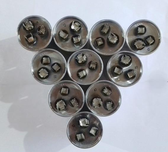 Kit Capacitor Duplo Aluminio Original Eos - 10 Unidades