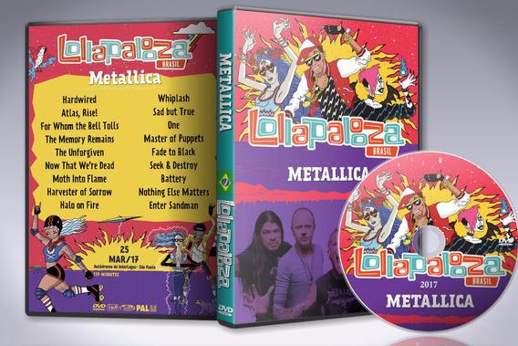 Dvd Metallica - Lollapalooza Brasil 2017 Br