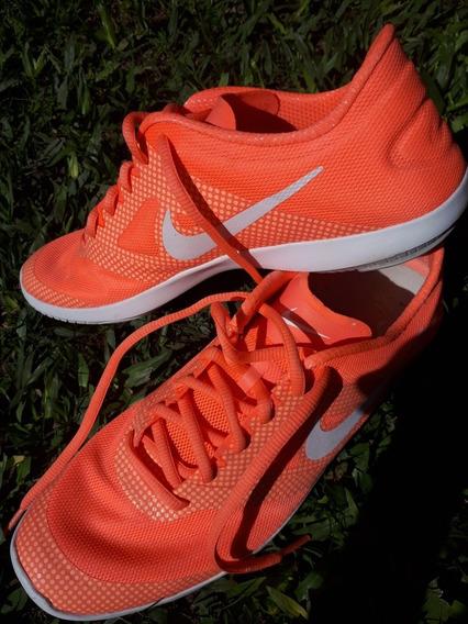Zapatillas Naranja Flúor