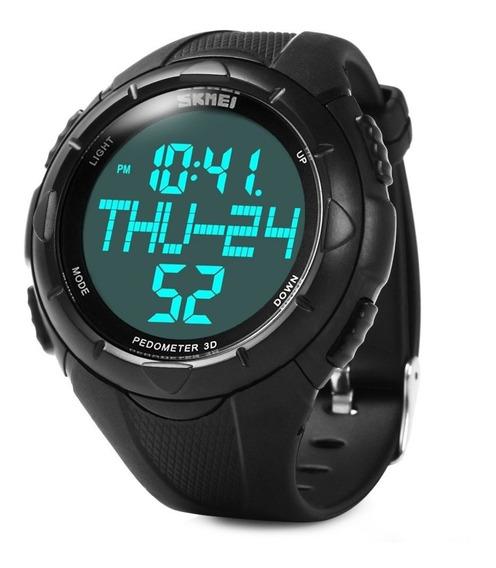 Reloj Skmei 1122 Unisex Deporte Podometro Calorias + Caja