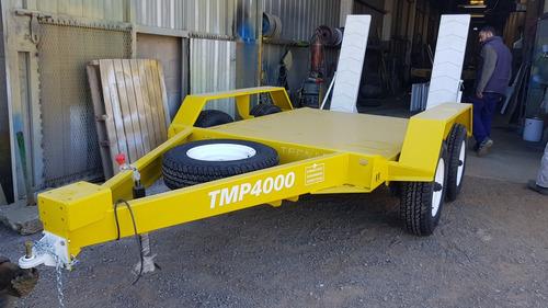 Trailer P/autoelevador/mini Tecnar  Mod Tmp4000 Patentable