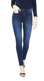 Calça Jeans Calvin Klein Jeans Jegging Pockets Azul