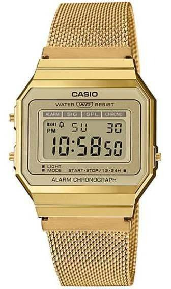 Relógio Casio Vintage Slim Dourado A700wmg-9adf-sc