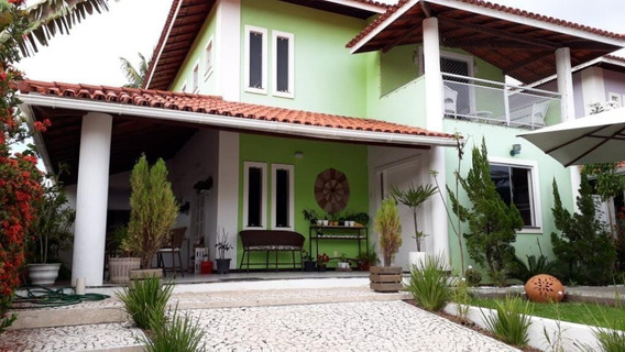 Casa Em Buraquinho, Lauro De Freitas/ba De 250m² 4 Quartos À Venda Por R$ 690.000,00 - Ca194045