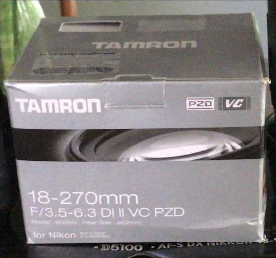 Lente Tamron 18-270 Para Nikon