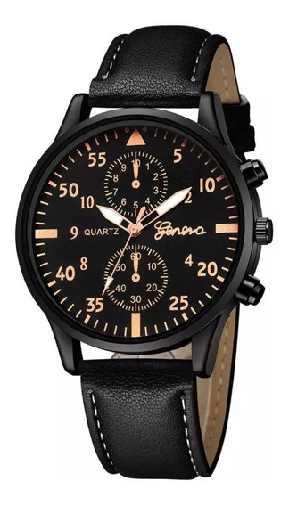 Relógios Masculinos Moda Casual Esporte Relógio Marca Geneva