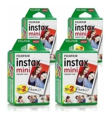 Imagem 1 de 3 de Papel Filme Para Instax Mini 7, 8, 9, 11 -80 Fotos 5,4 X 8,6