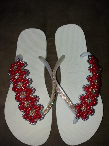 Sandálias Havaianas Decoradas