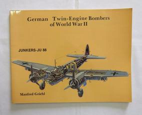 Livro Junkers - Ju 88 - Luftwaffe - 2ª Guerra