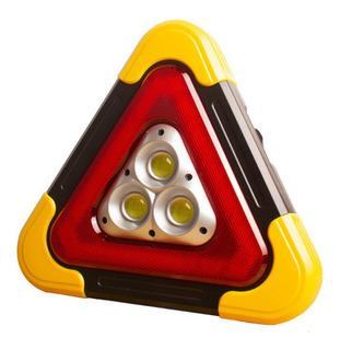 Triangulo Reflejante Led Emergencia Auto Seguridad 26cm