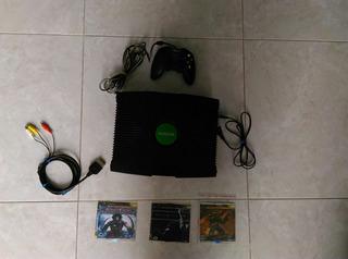 Xbox Clasic+ 3 Juegos + Control