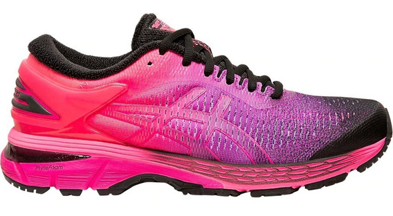 Asics Zapatillas Running Mujer Gel Kayano 25 Fucsia - Negro
