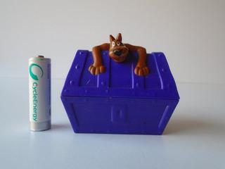 Scooby Doo Cofre Figura Mcdonalds 2014