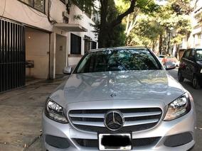 Mercedes Benz Clase C 1.6 180 Cgi At, 2015, Único Dueño