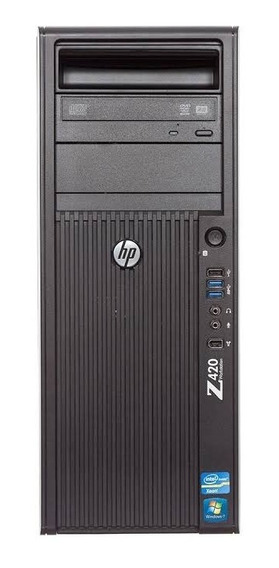 Workstation Hp Z420 Xeon E5 1603 4gb Hd 500gb Nf Garantia