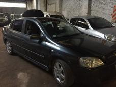 Chevrolet Astra 4p Gls C/ Gnc Chocado No Pequeño Incendió
