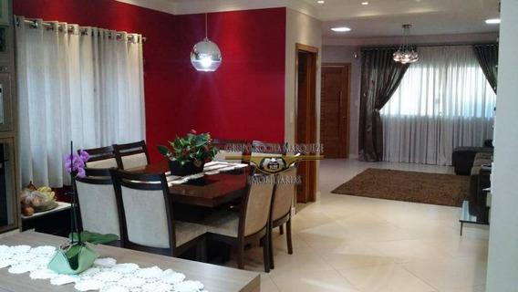 Sobrado Com 3 Dormitórios À Venda, 192 M² Por R$ 690.000,00 - Vila Antonieta - São Paulo/sp - So1280
