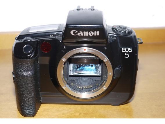 Câmera Analógica Filme Canon Eos 5 Com Defeito