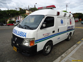 Ambulancias Nissan Urvan 3.0