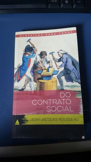 Do Contrato Social Jean-jacques Rousseau Livro